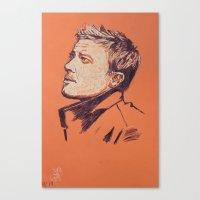 Jeremy Renner Canvas Print
