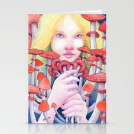 Keeper Of The Scarlet Ga… Stationery Cards
