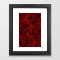 Chrysanthemum II Black O… Framed Art Print