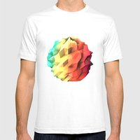 Atmosphere Mens Fitted Tee White SMALL