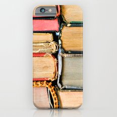 Vintage Books Stacks iPhone 6 Slim Case