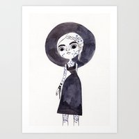 Leo La Petite Sorciere Art Print