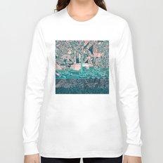 washington dc city skyline Long Sleeve T-shirt