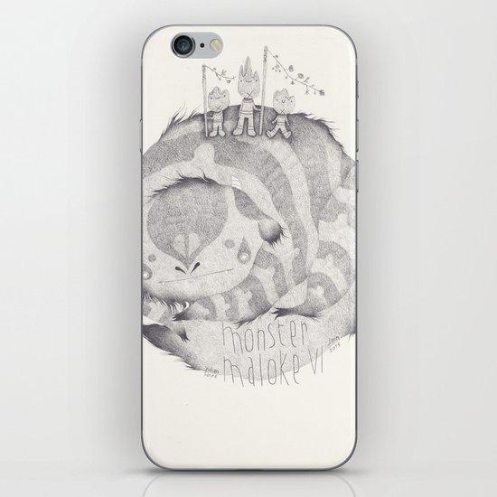 monster maloke VI iPhone & iPod Skin