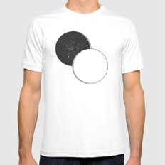A Space Mens Fitted Tee White SMALL