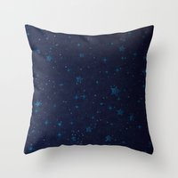Cosmic Tantra Throw Pillow