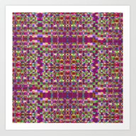 Art Print featuring Abstract Geometric Y by Vitta