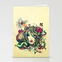 Beauty Before Death Stationery Cards