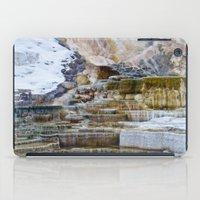 Yellowstone Hot Springs iPad Case
