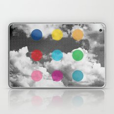 Storm Clouds + Colored Dots Laptop & iPad Skin