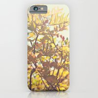 Fading Fall Leaves iPhone 6 Slim Case