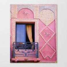 Marrakesh Balcony Canvas Print
