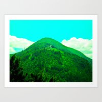In The Mountains Of The … Art Print