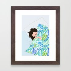 MORNING TROUBBLES II Framed Art Print