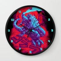 DAIKAIJU KING GOJIRA Wall Clock