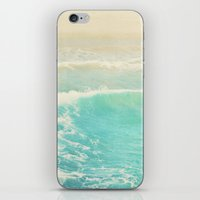 Beach Ocean Wave. Surge.… iPhone & iPod Skin