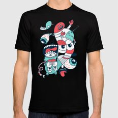 2065 Mens Fitted Tee Black SMALL