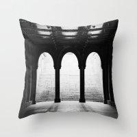 NYC Noir Throw Pillow