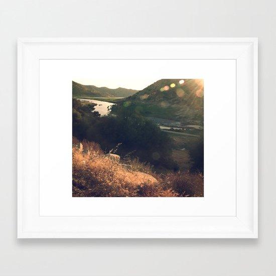 California dreaming (3) Framed Art Print