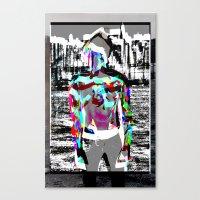 Urban Boy 2  Canvas Print