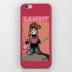 Kiddie Gambit iPhone & iPod Skin