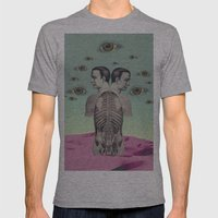 new anatomy 01 -  Mens Fitted Tee Athletic Grey SMALL