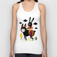 Walking Away Unisex Tank Top