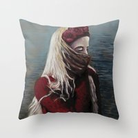 Girl #1 Throw Pillow