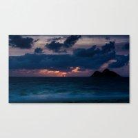 Happy Aloha Monday Sunrise Canvas Print