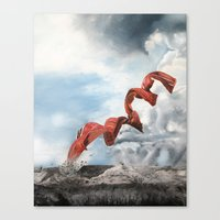 Old rebirth Canvas Print