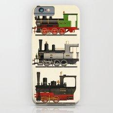 Groovy locomotives iPhone 6 Slim Case