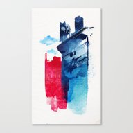 This Is My Town Canvas Print