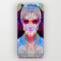 machina ex femina iPhone & iPod Skin
