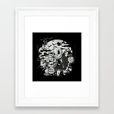 Filling Your Dreams to the Brim with Fright Framed Art Print