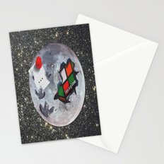 The Moon is Edible Stationery Cards