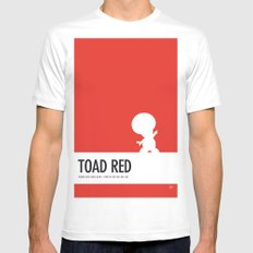 No41 My Minimal Color Code poster Toad Mens Fitted Tee White SMALL