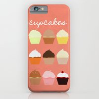 iPhone & iPod Case featuring Baker's Joy Collection: Cupcakes by Rebecca Allen