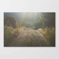 Backroad Wandering Canvas Print