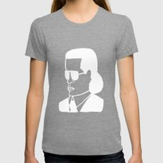 Faces of Fashion Part Deux Womens Fitted Tee Tri-Grey SMALL