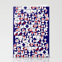 Americana Chaos Stationery Cards