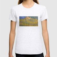 Erebor, The Lonely Mount… Womens Fitted Tee Ash Grey SMALL