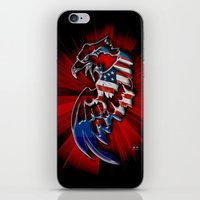 Patriotic Eagle iPhone & iPod Skin