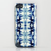 iPod Touch Cases featuring Tie Dye Blues by Nina May Designs