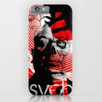 iPhone & iPod Case featuring psycho by RIGOLEONART