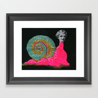 Slug Slut Framed Art Print