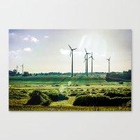 Wind generators Canvas Print