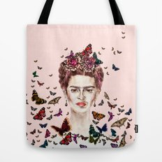 Frida Kahlo - Mexico Tote Bag