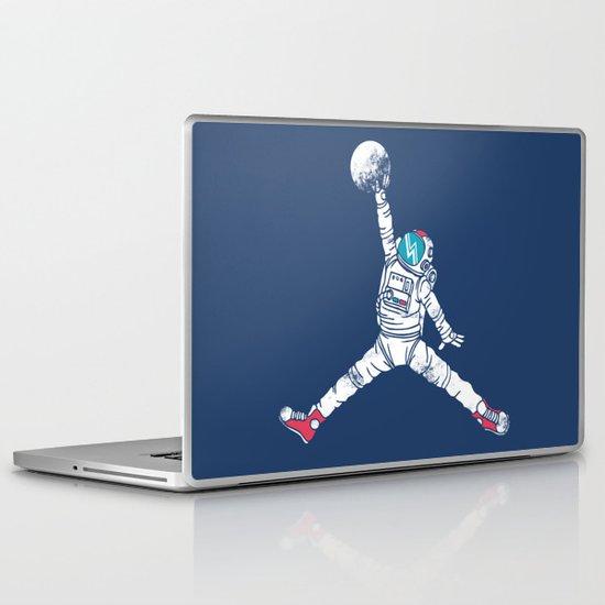 Space dunk Laptop & iPad Skin