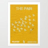The Cobra Unit - The Pain Art Print