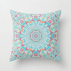 BOHO SUMMER JOURNEY Throw Pillow